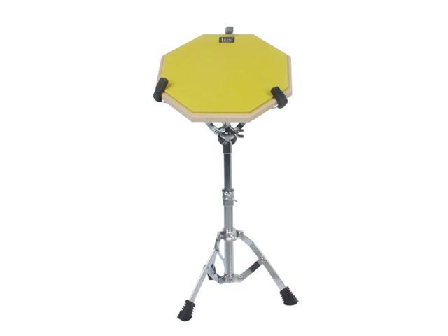 yellow soft rubber dumb pad practice pad mat plate drumming silencer. Black Bedroom Furniture Sets. Home Design Ideas