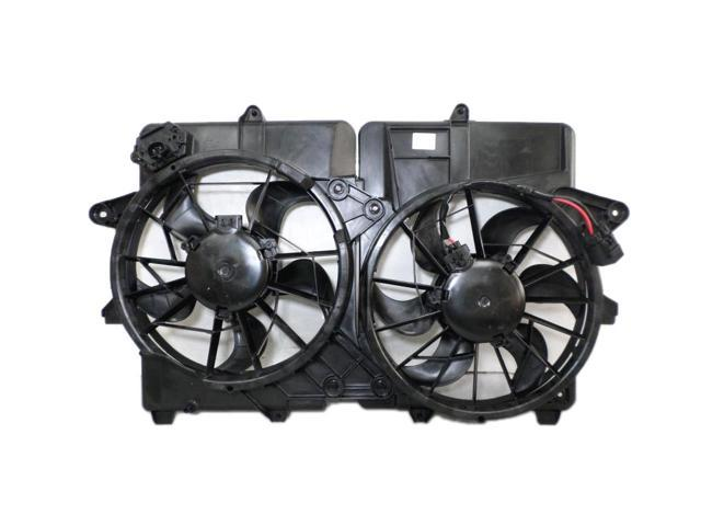 Radiator Dual Cooling Fan Assembly For Ford Escape Mercury Mariner Hybrid