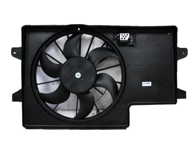 Radiator Dual Cooling Fan Assembly w// Motor for 99-03 Ford Windstar