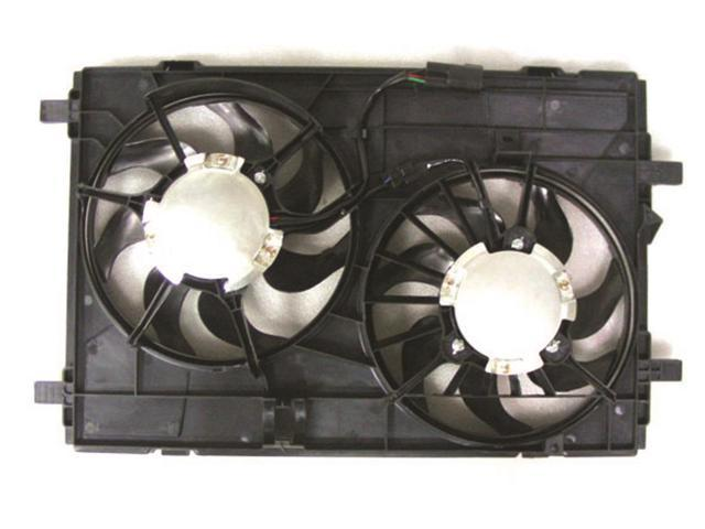 RADIATOR//CONDENSER DUEL FAN FO3115177 FOR 07 08 09 10 FORD EDGE LINCOLN MKX