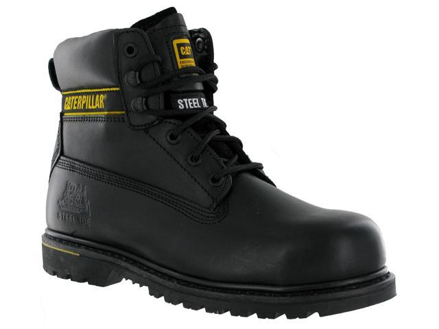 37c7a5790c1 CAT Caterpillar Holton Safety Steel Toe Cap Mens Leather Work Boots UK6-15  - Newegg.com