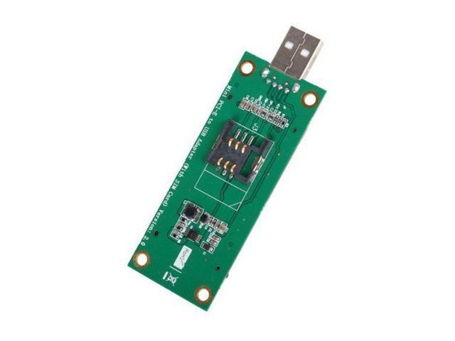 PCI-E Wireless WWAN to USB Adapter Card with SIM Card Slot Module Testing  Tools - Newegg com