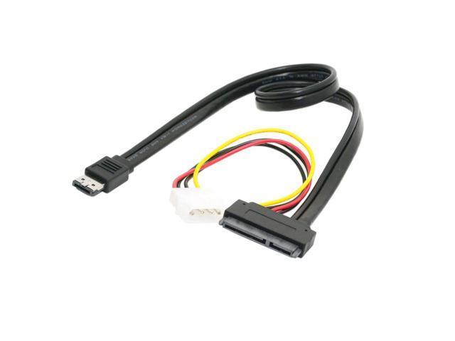 """12V 5V  eSATA  Power combo to 22Pin SATA cable 2.5/"""" 3.5/"""" HDD Hard driver"""