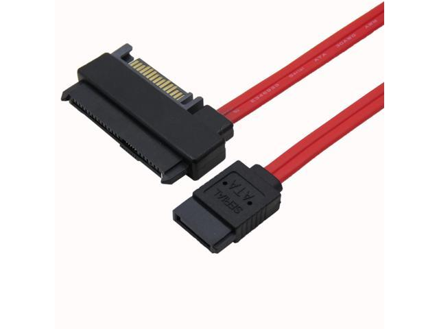 15Pin Power Connector PC Computer Accessories Cable Length: 50cm Cables Occus New 29 Pin SAS SFF-8482 to 7 Pin SATA Style SAS Ports HDD Data Cable