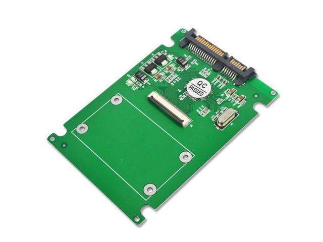 """1.8/"""" Micro SATA Serial ATA HDD SSD 16 to 22 Pin 2.5/"""" SATA Adapter Converter"""