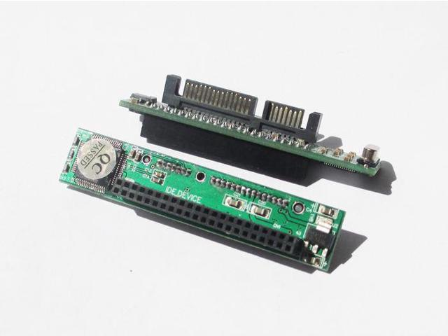 """44pin 2.5/"""" IDE HDD Drive Female to 7+15pin Male SATA Adapter Converter Card"""