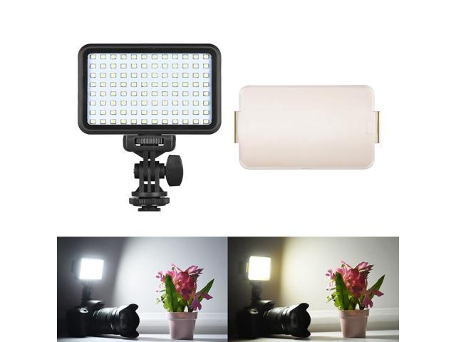 Andoer Pad96 Led Video Light 6000k Dimmable Fill Light Panel Camera Mount 7 5w