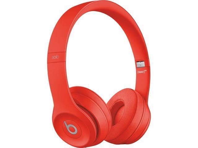 Beats By Dr Dre Solo3 Wireless On Ear Headphones Red Newegg Com