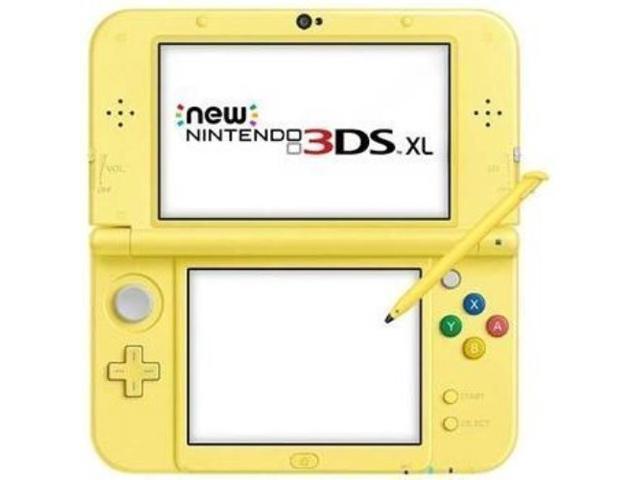New Nintendo 3DS XL - Pikachu Yellow Edition - Newegg com