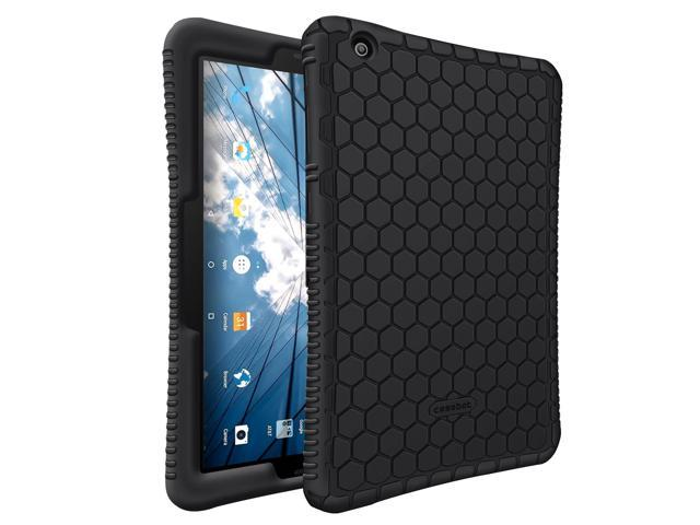 pretty nice c6444 5d477 Fintie Silicone Case for at&T Primetime - [Honey Comb Series] [Anti Slip]  [Kids Friendly] Shockproof Protective Cover for 10