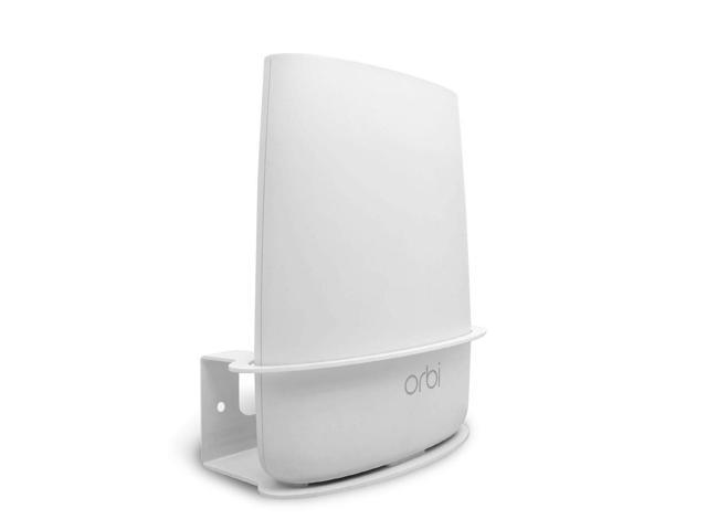 ALLICAVER Compatible Wall Mount Netgear Orbi, Sturdy Metal Made Mount Stand  Holder Compatible Orbi WiFi Router RBS40, RBK40, RBS50, RBK50, AC2200,