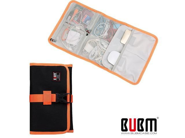 c972d4ca4f7c BUBM Roll-Up electronics organizer, travel carry case, Hanging Toiletry  Cosmetics Bag, Cable Stable, Wash Bag, Baby Heal - Newegg.com