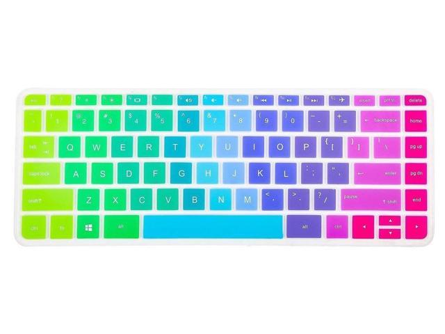 Keyboard Cover Skin For Hp 14 Inch Stream Laptop Hp Stream Laptop Pc 14 Hp Pavilion 14 Ab 14 Ac 14 Ad 14 Al Hp 14 An Series Notebook Us Layout Rainbow Newegg Com