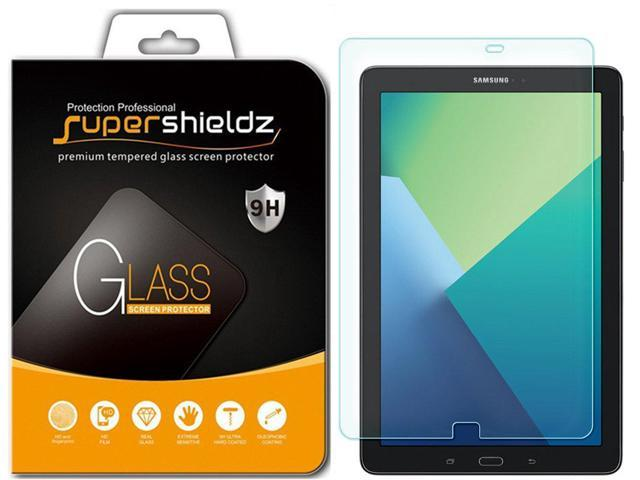 SM-T580//T587 Anti-Scratch Supershieldz for Samsung Galaxy Tab A 10.1 Tempered Glass Screen Protector Bubble Free Lifetime Replacement