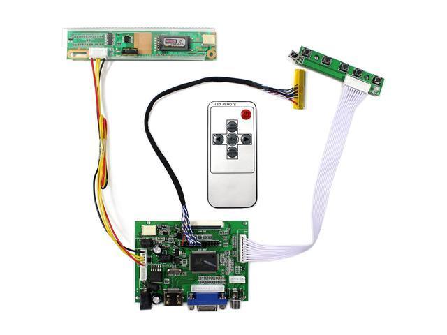 for B154EW08 LTN154X3-L01 1280x800 HDMI+VGA+DVI+Audio+Earphone Controller Board