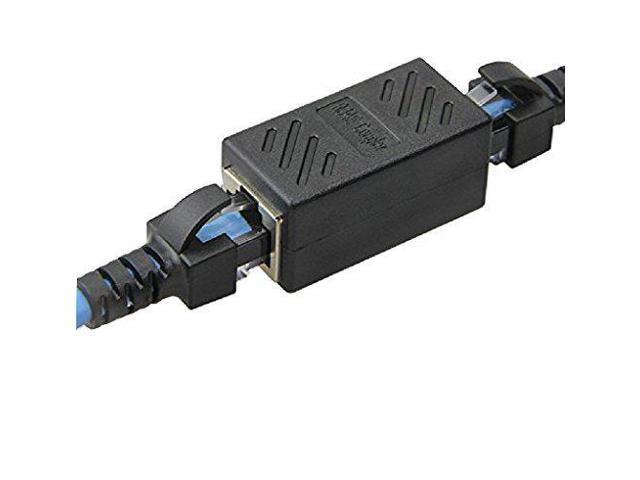 30 Cat 6 Cables Pcs RJ45 Coupler Ethernet Connector 8P8C Cat6 Cat5e LAN Inline