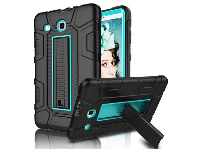 low cost ffee6 247ec Galaxy Tab E 9.6 Case, Elegant Choise Case with Kickstand Three Layer Heavy  Duty Shockproof Defender Rugged Protective Case Cover for Samsung Galaxy ...