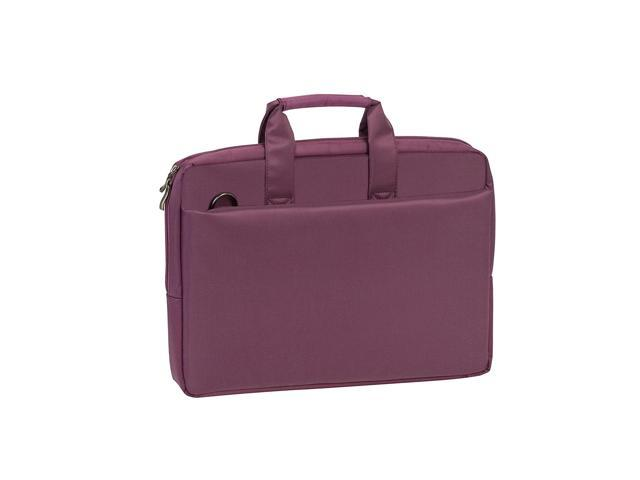 c63e59cd2862 Rivacase 15.6 inch Stylish Laptop Shoulder Bag w/Padded Compartment -  Violet - Newegg.com