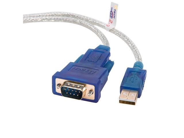 DTECH 4 Feet USB to RS232 DB9 Serial Port Adapter Cable - with FTDI Chipset  Supports Windows 10 8 7 and Mac Linux - Newegg com