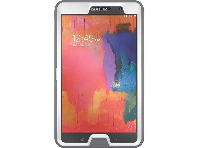 best website 5b2ad 0f197 OtterBox Defender Series for Samsung Galaxy Tab Pro (8.4), (White/Gunmetal  Grey) (77-40500) - Newegg.com