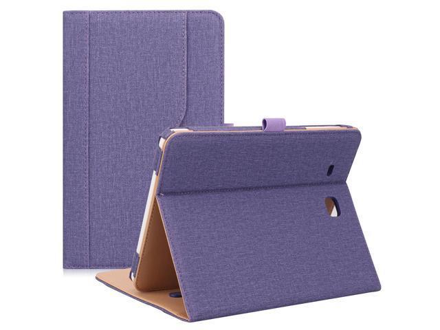quality design 56c0d ccf80 ProCase Samsung Galaxy Tab E 9.6 Case – Vintage Stand Folio Case Cover for  Galaxy Tab E 9.6