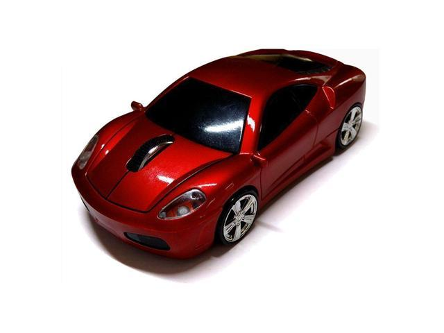 Wireless Car Mouse TDRTECH 2.4GHz Optical Gaming Mouse Cool Sport Car Wireless