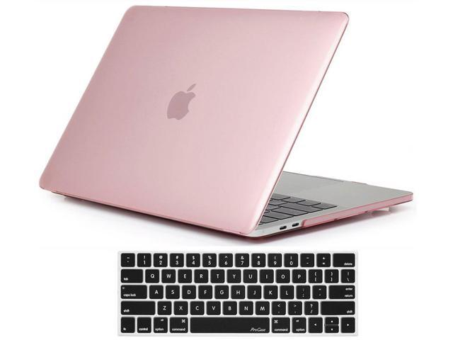 Procase Macbook Pro 15 Case 2018 2017 2016 Release A1990 A1707 Hard Case Shell Cover And Keyboard Cover For Apple Macbook Pro 15 2018 2017 2016 With Touch Bar And Touch Id Clear Pink Newegg Com