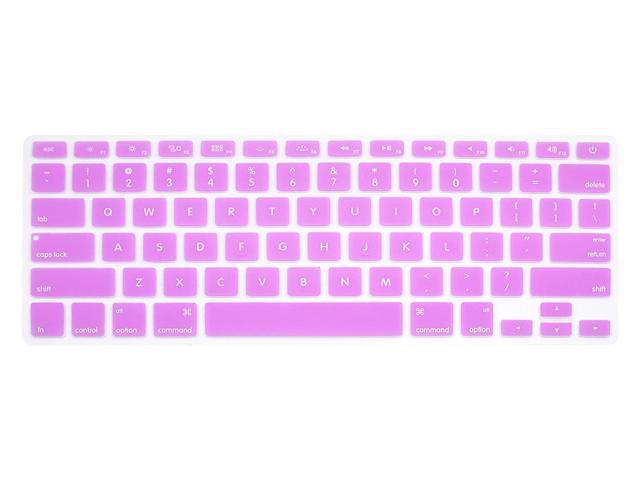 "Keyboard Cover Pink Silicone Skin for MacBook Pro 13/"" 15/"" 2015 or Older Version"