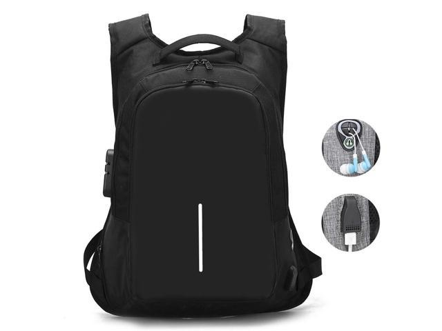 723a869fc824 Travel Laptop Backpack, Business Anti Theft Laptop Backpacks with USB  Charging Port and Headphone Interface,Water Resistant College School  Computer ...
