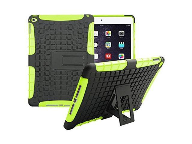 100% authentic 61416 987bf ipad Air 2/ipad 6 Case Cavor Heavy Duty Armor Hybrid [Dual Layer]  KIickstand Back Holster Dazzle Shockproof Cover Protecive Case for ipad Air  2/ipad 6 ...