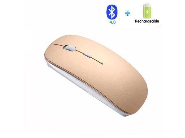 2bc7d24f2be Bianco Slim Rechargeable Bluetooth Wireless Mouse for PC Computer Notebook  Computer Android Tablet Vomputer Intelligent Equipment