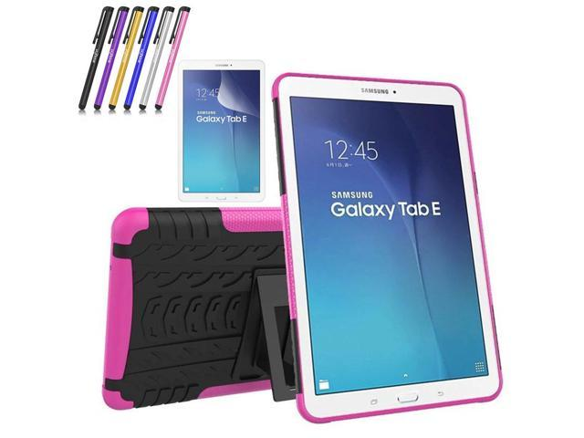 reputable site 999b4 3953f Galaxy Tab E 9.6 Case, Windrew Heavy Duty Hybrid Protective Case with  Kickstand Impact Resistant For Samsung Galaxy Tab E 9.6