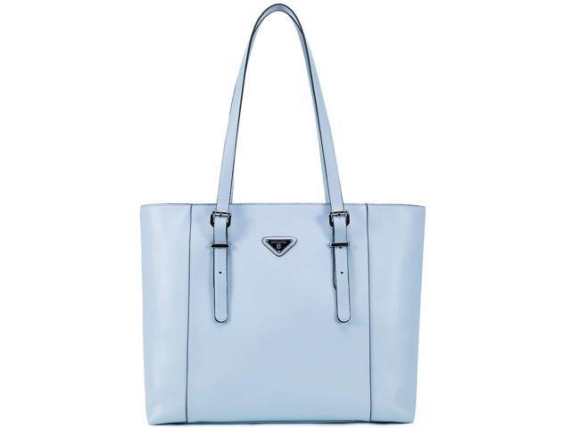 bb4a65c3c86e56 BOSTANTEN Women Briefcase Leather Laptop Tote Handbags 14