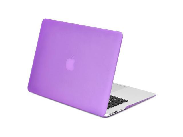 the best attitude 2a23f ef0ca TOP CASE - Rubberized Hard Case Cover Compatible with Apple MacBook Air  13-Inch 13