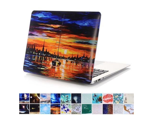 online store 56f41 7bf99 MacBook Pro 13 Retina Case, PapyHall MacBook Plastic Hard Case Galaxy Space  Rubber Coated Hard Shell Cover Lightweight Protective Hard Case for ...