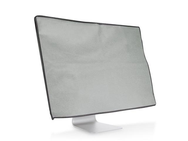 kwmobile Monitor Cover for Apple iMac 21.5 Black//White Dust Cover PC Monitor Case Screen Display Protector