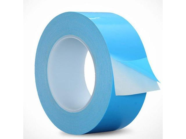 Double Side Tapes Cooling Pad Apply to LED,CPU,SSD Drives,25m x 20mm x 0.15mm Thermal Adhesive Tape