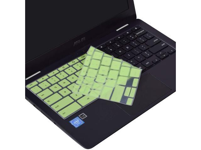 Keyboard Silicone Cover Compatible ASUS Chromebook Flip C213SA-YS02  C223NA-DH02 11 6 inch Chromebook Ultra Thin Protective Skin, Green -  Newegg com