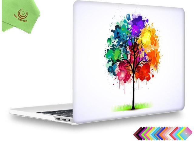 big sale e17c6 25d20 MacBook Pro 13 inch Case 2018 2017 2016, UESWILL Creative Design Smooth  Soft-Touch Hard Case for MacBook Pro 13-inch (USB-C) with/Without Touch  Bar, ...