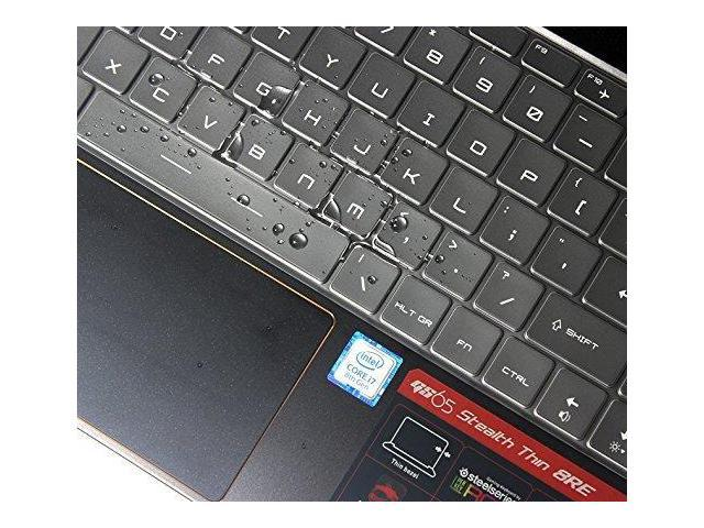 Imcomor For Msi Gs65 Keyboard Cover Soft-Touch Ultra Thin Clear Protective Skin