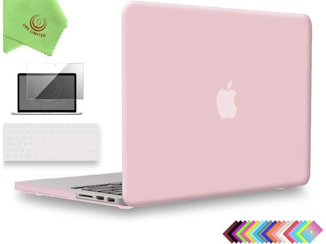 official photos c08cb 381b6 UESWILL 3in1 Matte Hard Case for MacBook Pro (Retina, 15-inch, Mid  2012/2013/2014/Mid 2015), Model A1398, NO CD-ROM, NO Touch Bar + Keyboard  Cover and ...