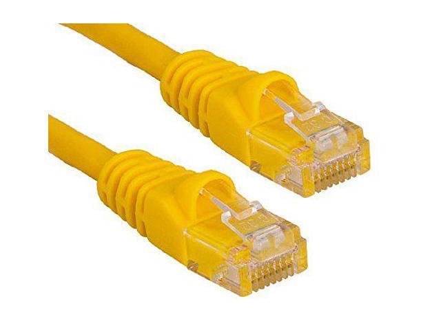 RiteAV - Cat6 Network Ethernet Cable - Yellow - 15ft (Certified Fluke  Tested) - Newegg com