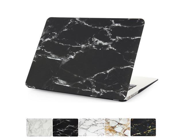sports shoes 7e586 f2b9a MacBook Air 13 Case , PapyHall Marble Pattern Plastic Hard Shell Cover for  Apple MacBook Air 13 inch Model: A1369/A1466 - Marble Black+White - ...