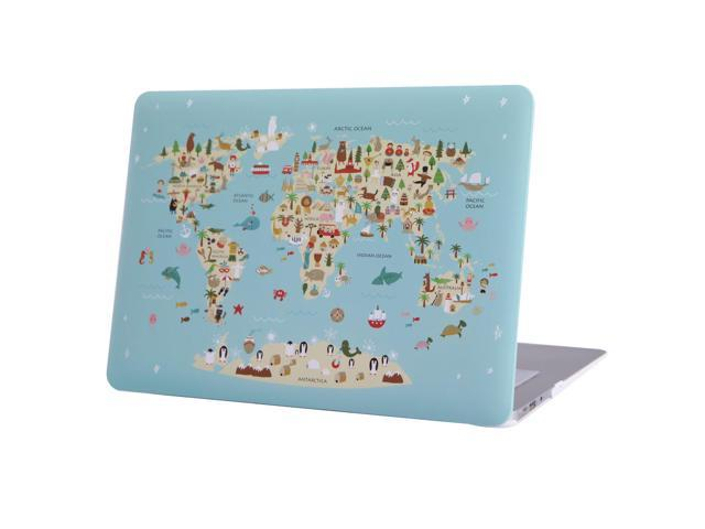 HDE Case for MacBook Air 13 Case Cute World Map Designer Hard S Plastic Designer World Map on world map tester, world map costume, world map dresses, world map size, world map vintage, world map modern, world map business, world map gold, world map bedroom decor, world map retail, world map illustrator, world map cook, world map color, world map creator, world map sports, world map rain, world map photography, world map teacher, world map design, world map name,