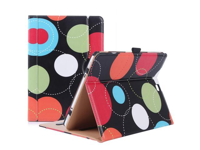 huge selection of 98f8a 96d85 ProCase Samsung Galaxy Tab S2 9.7 Case, Stand Folio Cover Case for Galaxy  Tab S2 Tablet (9.7 Inch, SM-T810 T815 T813) - Circles - Newegg.com
