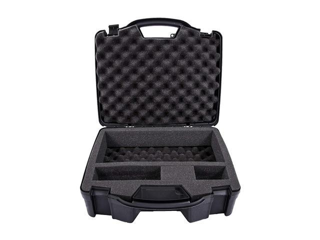 Casematix Portable Printer Carry Case Designed for HP Officejet 200  Wireless Mobile Printer , HP 62 Ink Cartridge and Cables - Also fits Older  HP