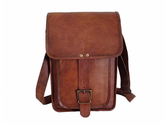 9424d46c777c Genuine Leather Messenger Bag 15.6 Inch Laptop Crossbody Shoulder Bag,  Business Bag, College School Office Bag For Men Women - Newegg.com