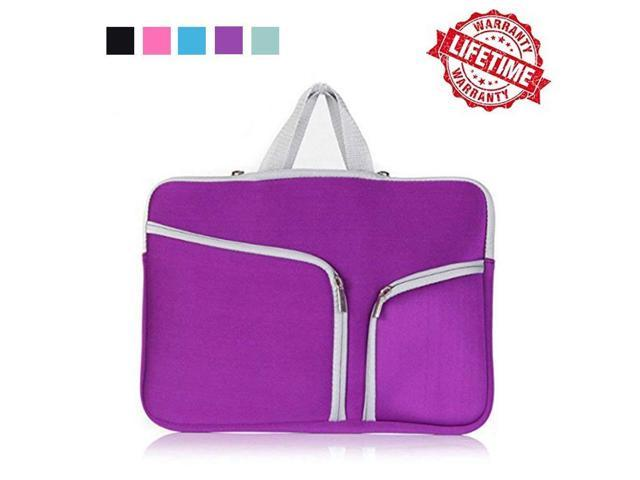b1a1bf5dea63 IC ICLOVER MacBook Air 13 Travel Bag, MacBook Pro 13 Soft Sleeve Case,  Protect Bag Cover Carrying Pouch Handbag Briefcase for MacBook Air 13 2018  ...