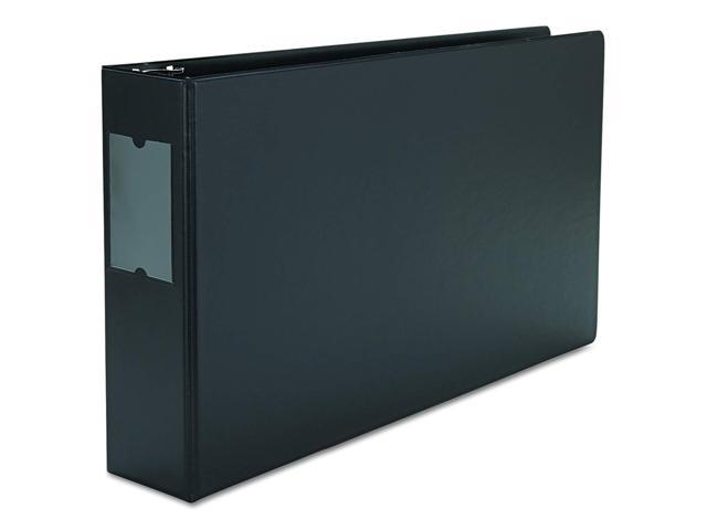 """UNIVERSAL Legal-Size Round Ring Binder with Label Holder 1/"""" Capacity 11 x 17"""