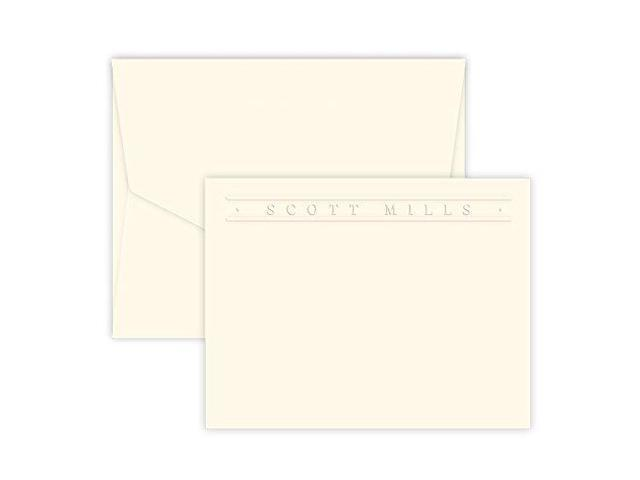 picture relating to Embossed Stationery referred to as Quality Tailored Embossed Stationery Flat Playing cards -
